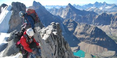 Mountaineering in the Canadian Rockies