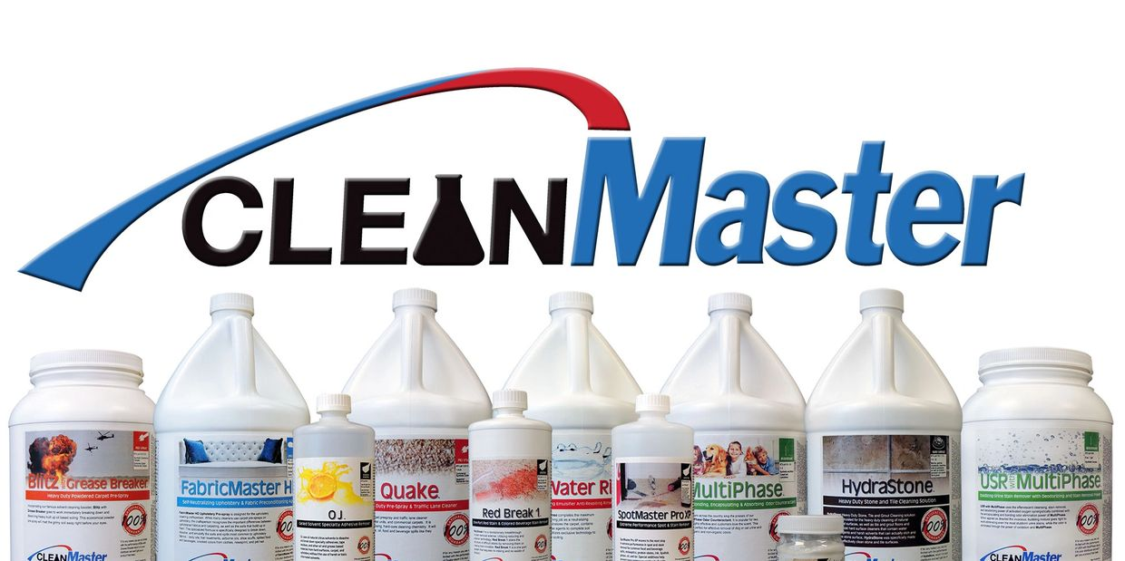 We carry the top cleaning chemicals, equipment and supplies in the Carpet Cleaning Industry.