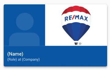 Remax Realty Digital Business Cards