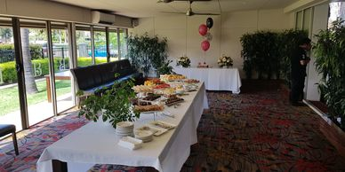Birthday party in private function room