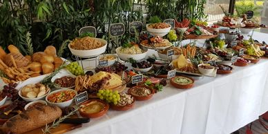 Grazing buffet in private function room