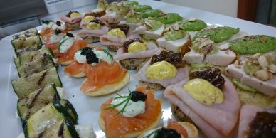 Canape event in private function room