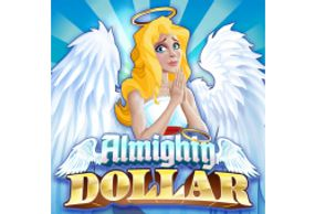 Featured Classic Slots section Almighty Dollar classic slot at Desert Nights Online Casino