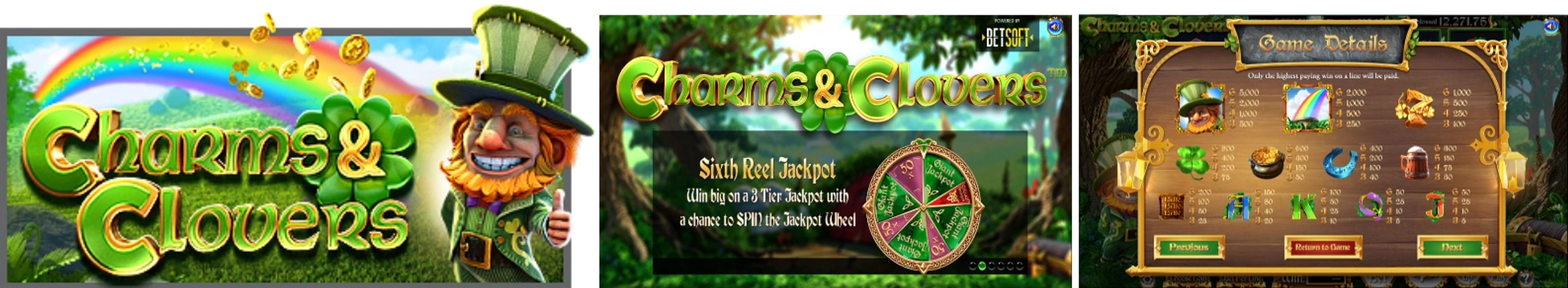 Charms & Clovers Online Video Slot Review