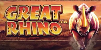 Great Rhino new video slots at Box 24 Casino