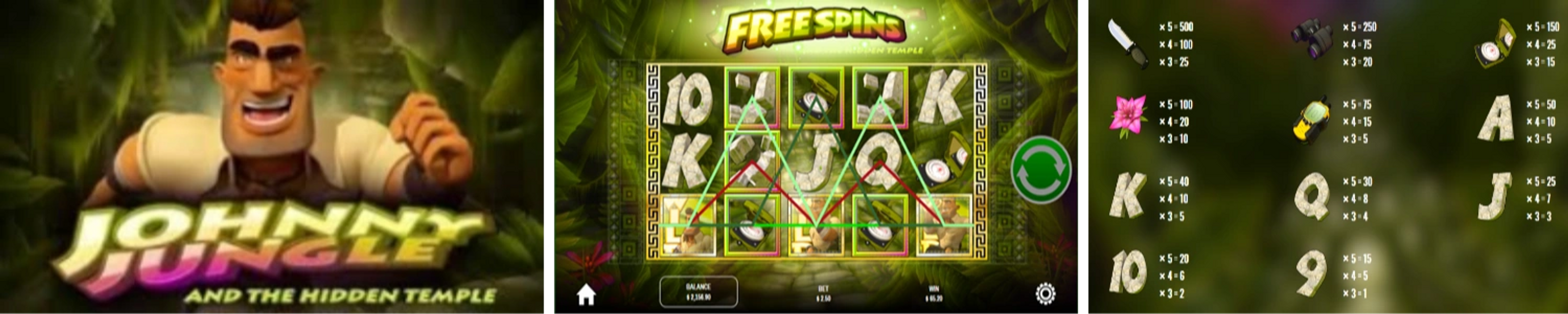 Johnny Jungle Online Video Slot Review