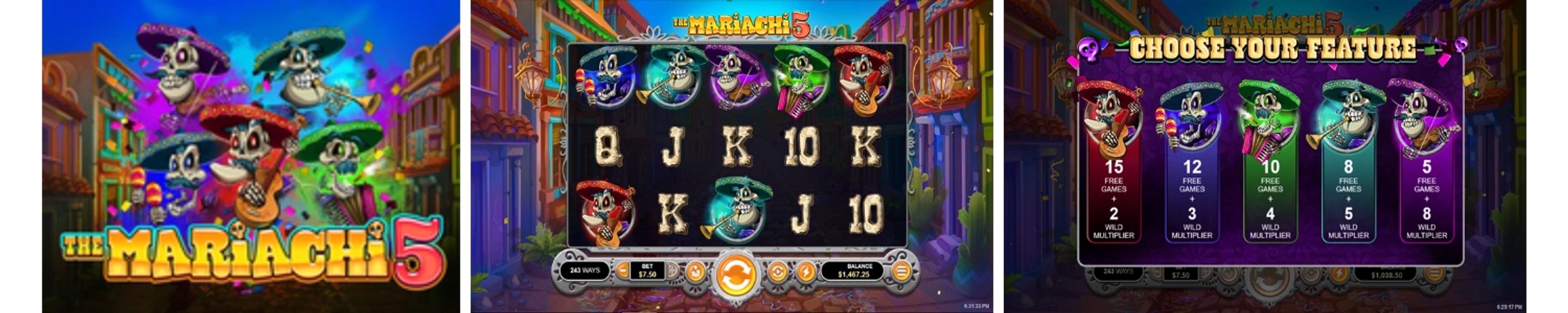 The Mariachi 5 Online Video Slot Review