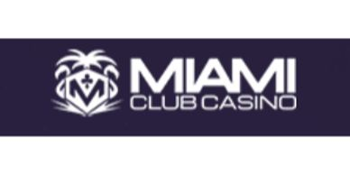 Miami Club Online Casino Video Slots Featured Casinos with 100% up to $100 x 8 Welcome Bonus
