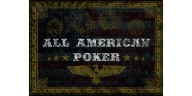 All American Poker Featured Table Games section with $50 free at Las Vegas USA Casino