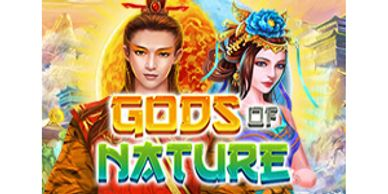 Featured video slots section Gods of Nature video slot free spins at Raging Bull slots online Casino