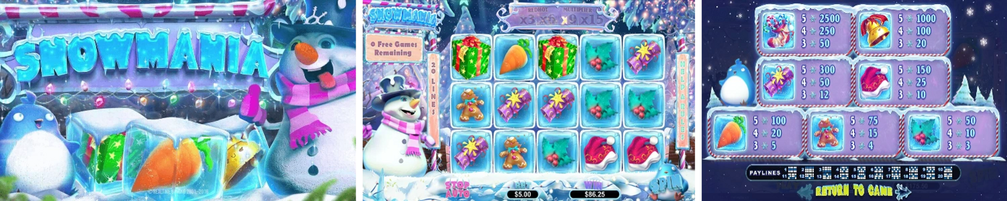 Snowmania Online Video Slot Review