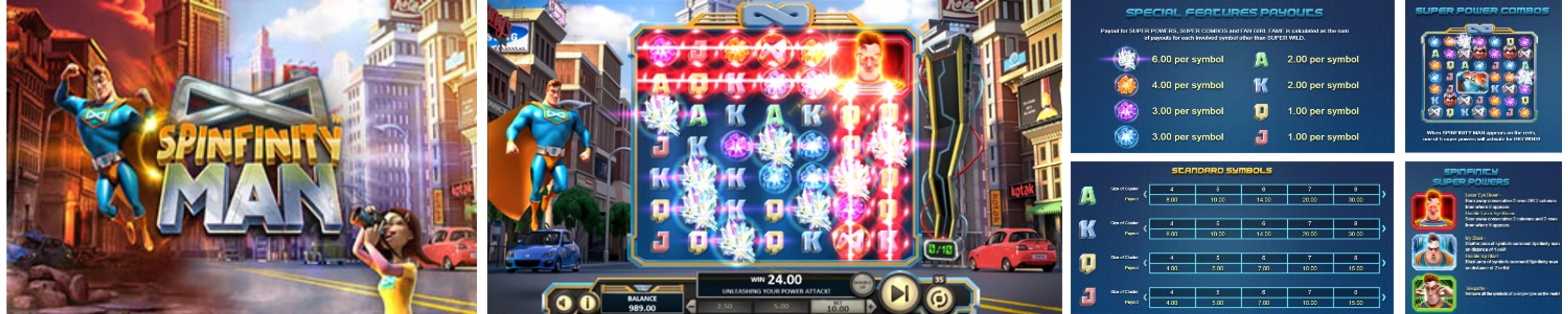 Spinfinity Man Online Video Slot Review