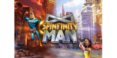 Spinfinity Man Video Slot, featured Video Slots section at Band New Video Slots