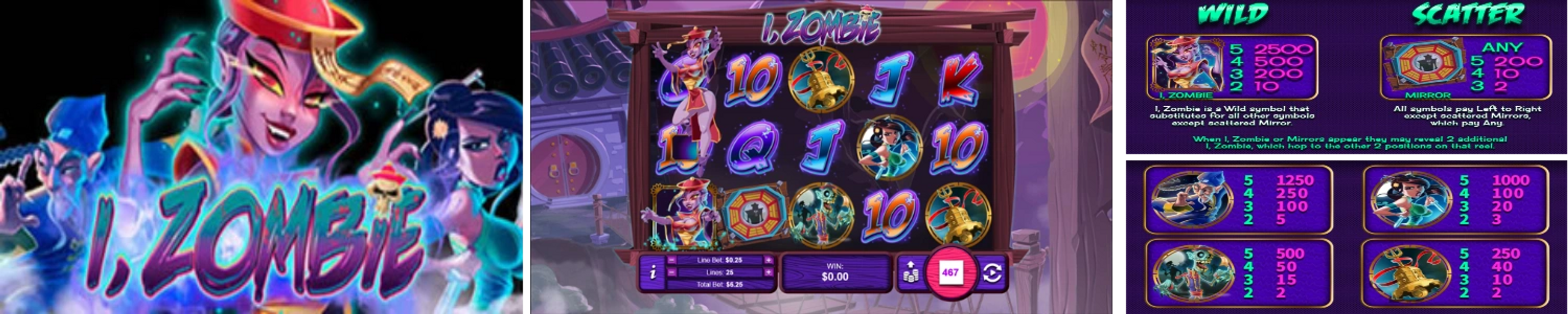 I, Zombie Online Video Slot Review