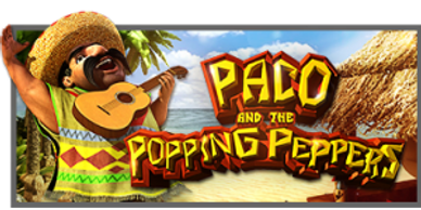Paco and the Popping Peppers free Aussie video slots