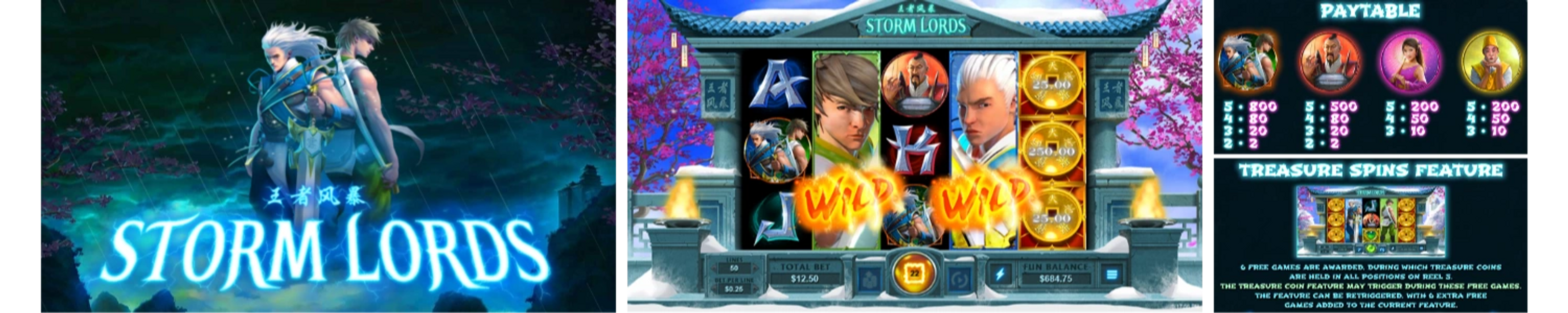 Storm Lords Online Video Slot Review