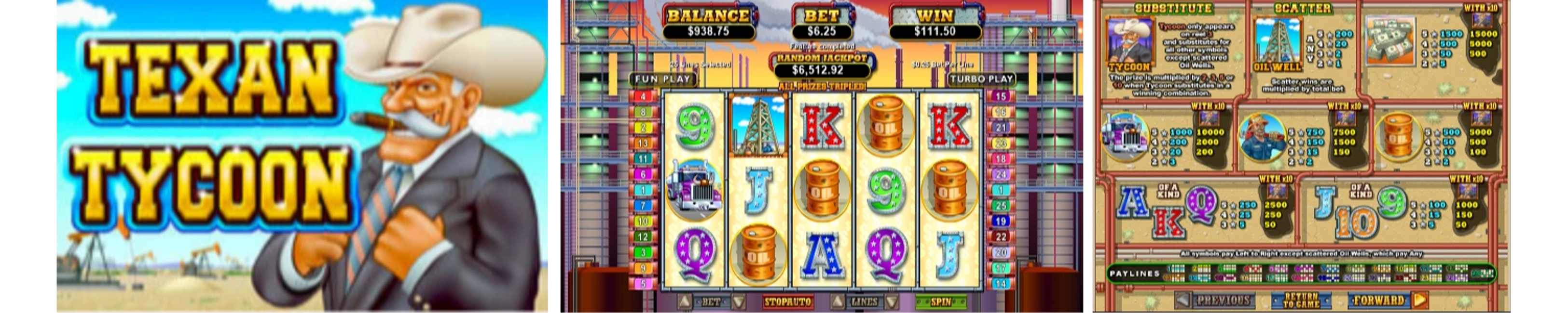 Texan Tycoon Online Video Slot Review