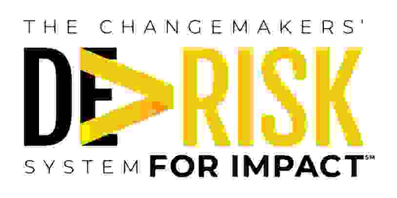 We  leverage the Changemakers' De-Risk System for Impact™ to help you avoid the most common mistakes
