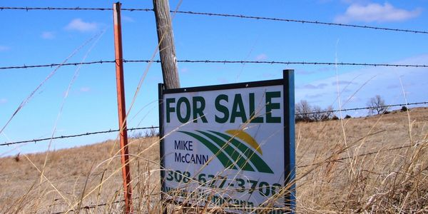 If you want to sell it...we want to sell it for you!  Mike McCann Nebraska Farm Broker Mach1 Realty