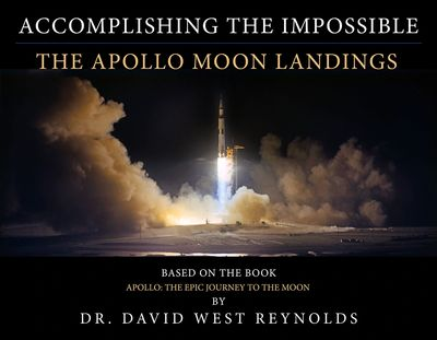 "Dr. Reynolds' program is based on his book, considered ""the definitive popular account of Apollo."""