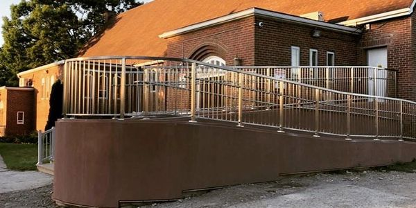 Stainless Steel Railing, Glass Railings,  Metal Staircase, and any custom metal project.