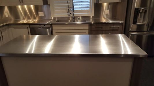 Our Stainless Countertop Are Made From Prime Stainless Steel.