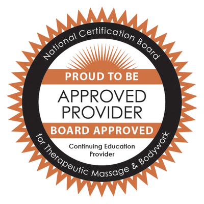 Two Birds Thai Bodyworks Approved Provider for National Certification Board for Therapeutic Massage & Bodywork Badge NCBTMB