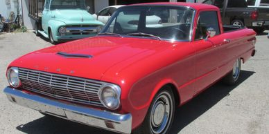 63 Falcon Ranchero Red