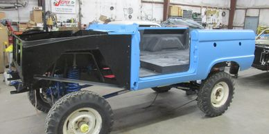 Bronco 67 Thunderbird Blue / Charcoal Liftkit
