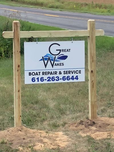 Great Wakes Boat Repair Boat service