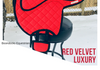 It's not just a great cupcake flavour! Red velvet luxury is a must have in your horse's wardrobe!