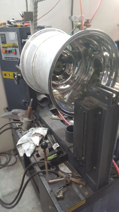 Wheel Polishing Wheel Fix It Llc