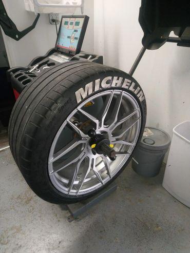 Tire Mount Balance Wheel Fix It Llc