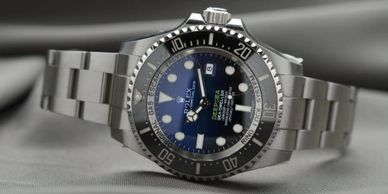 Rolex valuations Glasgow