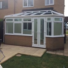 Professionally installed conservatory