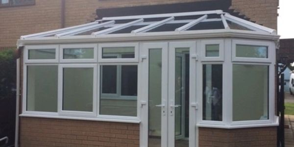 What a difference a new conservatory can make!