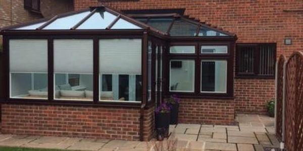 The new conservatory install