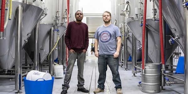 Craft beer brewed by veterans to help us employ at-risk veterans.