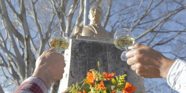 Salud! Cheers to Col. Ramon Corona, who grew up in our town and fought for the freedom of all Mexico