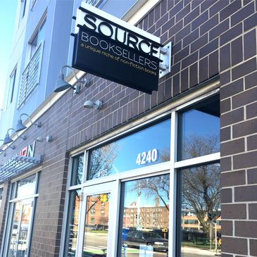 Source Booksellers is in the heart of Detroit and specializes in nonfiction books.