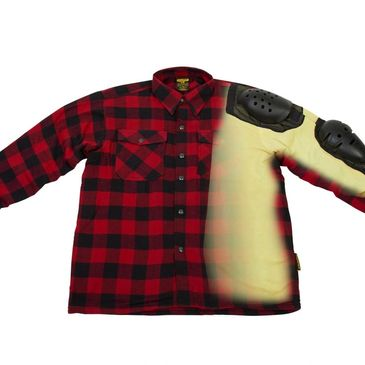 Scorpion's  Covert Moto Flannel is great for cool days on your motorcycle trike.