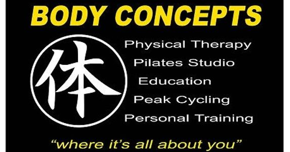 Body concepts, Folsom, Physical therapy, PT, Personal trainer, Pilates, Peak cycling