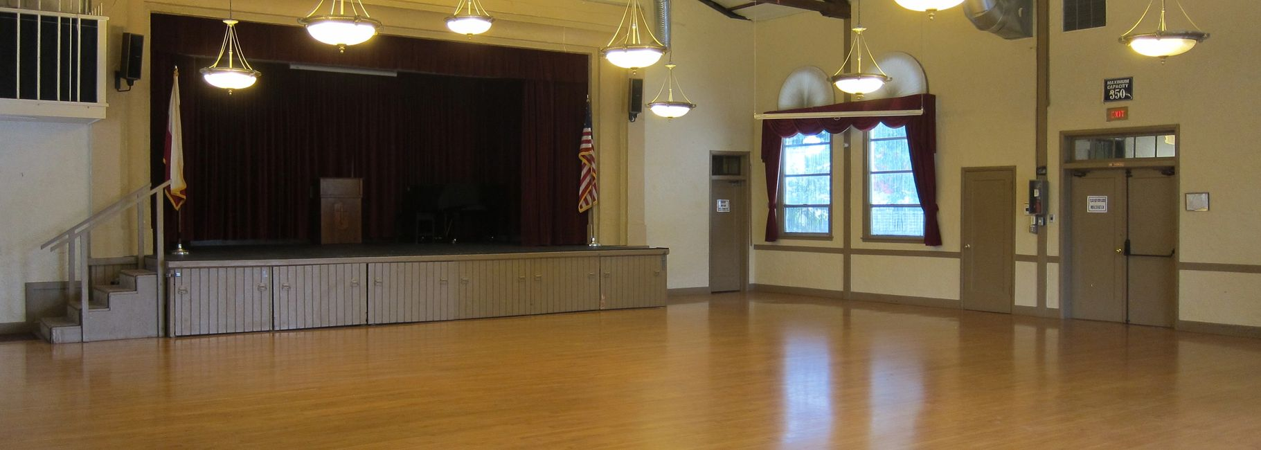 Polish American Community Hall, Hall Rental, 327 Main st Roseville, Ballroom,  Party space