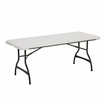6 foot retangular table rental