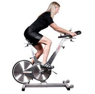 spin bike, health club equipment, gym