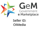 OiMedia is registered with the Government e Marketplace of the Government of India