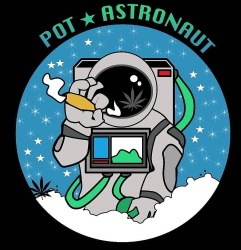 Pot Astronaut