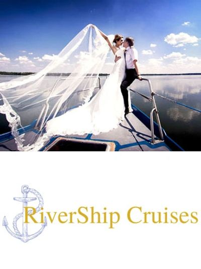 Scenic Nashville weddings on the water aboard the Vagabum RiverShip.