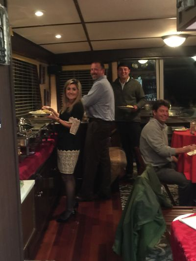 Host your corporate events and team meetings aboard the Vagabum Rivership.