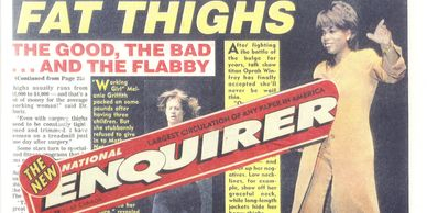 Ed Gaut in National Enquirer for knowing BEST way to Trim your Thighs... Ed Gaut knows